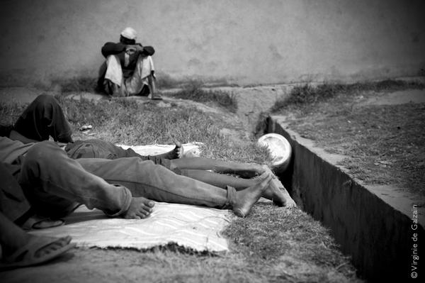 prison de Madagascar, la sieste, virginie de galzain, MdM